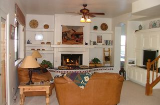 Goodyear house photo - family/living area with gas fireplace