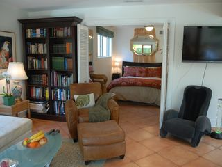 Santa Barbara house photo - Relax with a good book or try the massage chair.