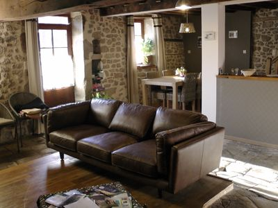 Comfortable cottage eighteenth, in the heart of the Creuse