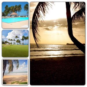 Rio Mar beach club, beach view and Golf!!!