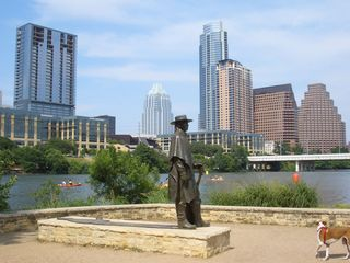 Austin apartment photo - Go say hi to SRV
