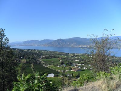 view of Naramata - minutes from my door