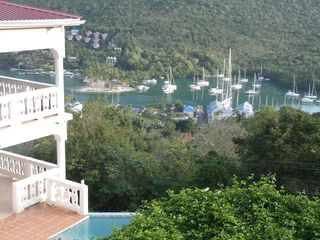 Marigot Bay villa photo - Marigot Bay View from Villa Isis