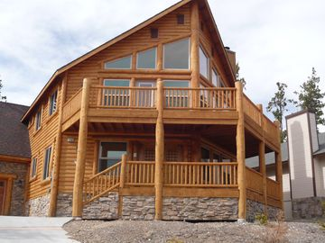Big Bear City cabin rental - Front of the house