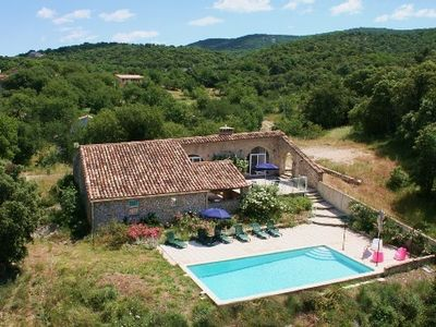 Sheepfold in Languedoc with a private pool