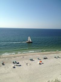 Orange Beach condo rental - Come go sailing and catch a wave and watch the dolphins play and maybe catch a glimpse of the many sea turtles that lay their eggs each year on the gulf