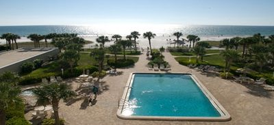 Horizons West Pool and Hot Tub Overlooks Gulf of Mexico!