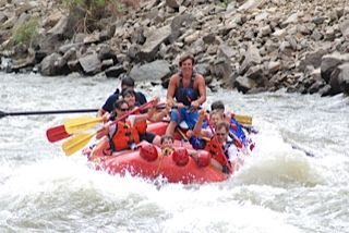 Rafting in the Summer Time