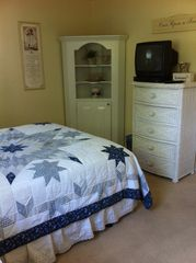 Westerly house photo - 1 bedroom with Queen Bed & TV