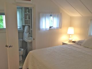 Upstairs Master BR (Brand new Queen Bed and small water closet) - Oak Bluffs house vacation rental photo