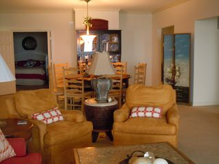 Kingston Plantation condo photo - Comfortable Seating in the Living Room