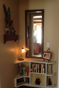 Lake George house rental - Forgot a good book? We have plenty :)