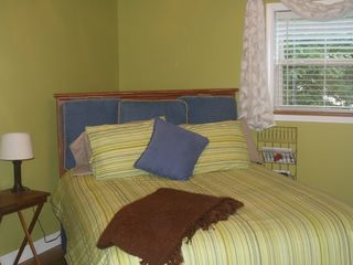 Robbinsville house photo - Get your R&R in the Green Room...Queen bed. Shared full bath with Cowboy room.