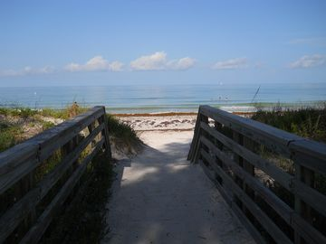 Just half a block away: your walkway to the beach!