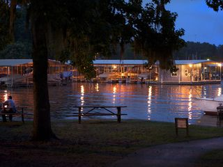 Coldspring house photo - Marina at night, sit by the water and watch the sun set