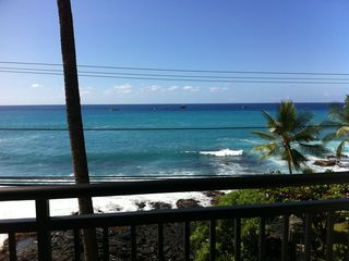 Kailua Kona condo photo - View from Living room
