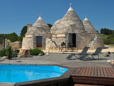 Alberobello villa rental - Beautifully renovated trullo on the top of the hil