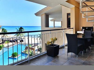 Spacious balcony & dining comforts