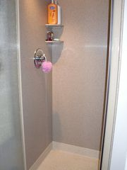 Seattle studio photo - Corian shower stall