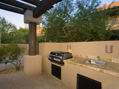 Scottsdale Troon house rental - Come use the BBQ by the pool, or the one on our patio!