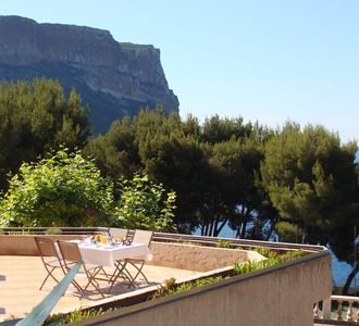 CASSIS SEASIDE - POSTCARD LIVING ON TOP OF EUROPE CLIFF