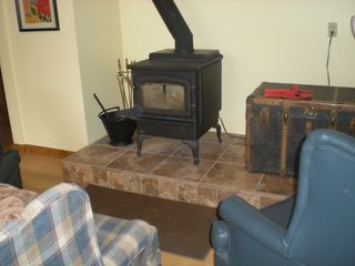 Londonderry house photo - Wood burning stove