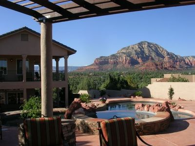 Sedona house rental - Paradise by the Pool