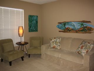 North Padre Island condo photo - Living Area