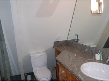 Full Downstairs bathroom with heated floors