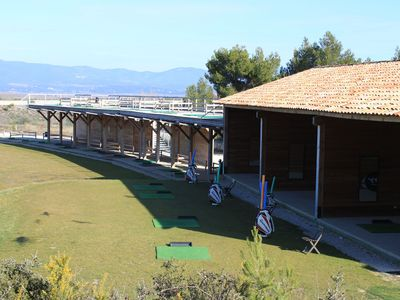 Driving Range at the David Leadbetter Golf Academy
