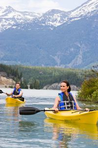 Great Kayaking and Water Activities at Nearby Lakes in Whistler, British Columbi