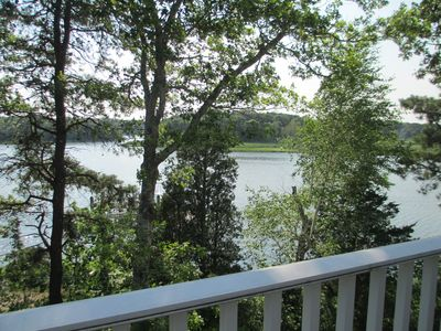 View from master bedroom deck/balcony