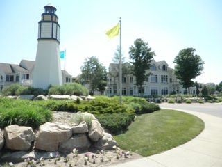 Manistee condo photo - Lighthouse at Harbor Village Entrance
