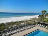 Exceptional BEACH FRONT condo, quiet, low rise complex w/pool