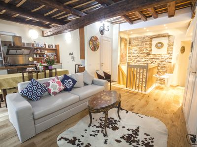 the fifteenth-century apartment in Bergamo Alta 2 bedrooms, WI-FI and private garden