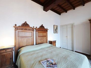 Master bedroom with beautiful Italianette style furniture