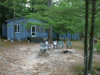 Bellaire / Shanty Creek cottage photo - Spend your evenings enjoying a campfire