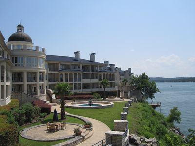 Island on Lake Travis
