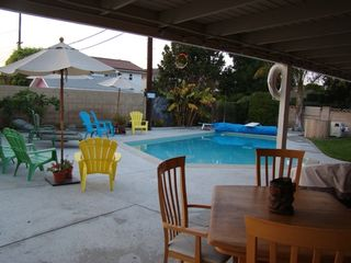 Anaheim house photo - Great Spacious Backyard with BBQ and Bar Area
