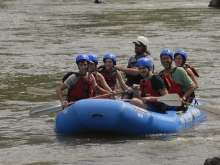 Mars Hill cabin photo - rafting