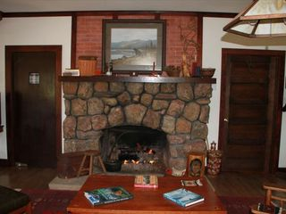 Estes Park house photo - Incredible Stone Fireplace