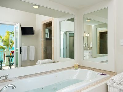 Exquisite master bath
