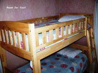 Bunk room for two!