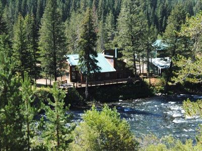 Ashton lodge rental - Fall River Ranch Resort is a 40 acre home site on both sides of the River Fall