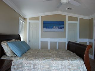 Great Exuma house photo - Master Bedroom with adjoining en-suite bath, with slider onto sun deck