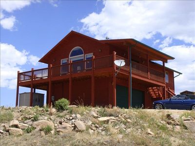 Cabin spectacular 360 views overlooking Cripple Creek & Sangre De Cristo Mt.