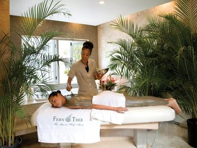 The Fern Tree Spa at Half Moon offers a wide range of services
