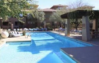 Other Scottsdale Properties condo rental - Club House with heated pool/ Spa, pool table, movie theater.