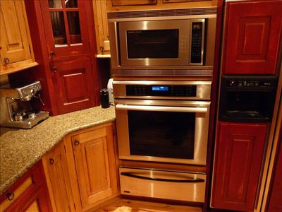 Professional Appliances and Warming Drawer