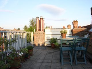 Roof terrace - East Amsterdam apartment vacation rental photo